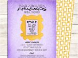 Friends themed Party Invitations Friends Tv Show Shower Invitation Bridal by Littlepebblepaper