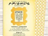 Friends themed Party Invitations Friends Tv Show Shower Invitation Bridal Shower Birthday