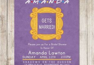 Friends themed Party Invitations Wedding Inspiration How to Throw the Ultimate Friends Tv