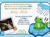 Frog Baby Shower Invites Frog Baby Shower theme Ideas Free Printable Baby Shower
