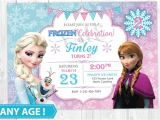 Frozen Birthday Invitation Template 11 Frozen Invitation Template Free Sample Example