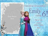 Frozen Birthday Invitation Template Elsa Frozen Birthday Party Invitation Ideas – Bagvania