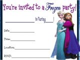 Frozen Birthday Invitations Printable Free 9 Best Of Frozen Birthday Invitations Printable