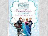Frozen Birthday Invitations Printable Free Frozen Birthday Invitation Template ← Wedding
