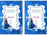 Frozen Birthday Invitations Printable Free Frozen Birthday Invitations – Birthday Printable