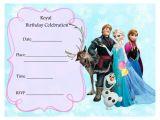 Frozen Birthday Invitations Printable Free Frozen Party Invitations Frozen Party