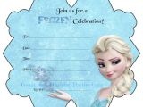 Frozen Birthday Invitations Printable Free Frozen Party