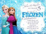 Frozen Birthday Invitations Printable Frozen Invitations