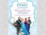 Frozen Birthday Party Invitations Online Free Frozen Birthday Invitation Template Wedding