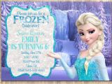 Frozen Birthday Party Invitations Online Frozen Invitation Template Cyberuse