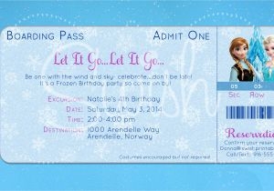 Frozen Birthday Party Invitations Printable 8 Best Images Of Frozen Birthday Invitations Printable