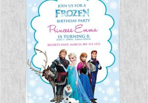 Frozen Birthday Party Invitations Printable Free Frozen Birthday Invitation Template Wedding
