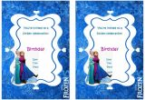 Frozen Birthday Party Invitations Printable Frozen Birthday Invitations Birthday Printable