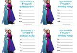 Frozen Birthday Party Invitations Printable Frozen Birthday Invitations Free Printable