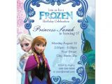 Frozen Customized Birthday Invitations Frozen Birthday Invitation Zazzle