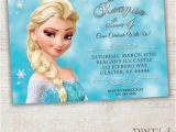 Frozen Customized Birthday Invitations Items Similar to Frozen Printable Invitation Custom