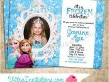 Frozen Customized Birthday Invitations Personalized Frozen Birthday Invitations theruntime Com