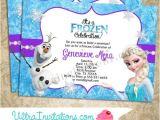 Frozen Electronic Birthday Invitation Disney Frozen Olaf Invitation Disney Digital by