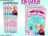 Frozen Electronic Birthday Invitation Disney Frozen Party Invitation and or Party Package Printable