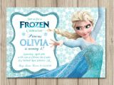 Frozen Electronic Birthday Invitation Frozen Birthday Invitation Elsa Invitation Girl Frozen