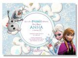 Frozen Electronic Birthday Invitation Frozen Birthday Invitations Digital File