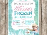 Frozen Electronic Birthday Invitation Items Similar to Frozen Birthday Invitation Frozen