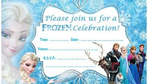 Frozen Party Invitation Template Download 24 Frozen Birthday Invitation Templates Psd Ai Vector