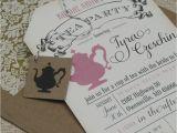 Fun Bridal Shower Invitation Templates Amazing Free Bridal Shower Tea Party Invitation