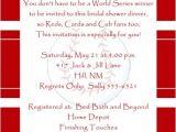 Fun Bridal Shower Invite Wording Baseball Bridal Couple Shower Invitation All Star Bride
