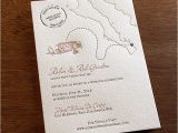 Fun Destination Wedding Invitations Fall 2014 Pantone Color Report Cognac Letterpress