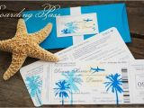 Fun Destination Wedding Invitations Sample Boarding Pass Destination Wedding Invitation
