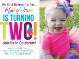 Funny 2nd Birthday Invitation Wording 2nd Birthday Invitations On Pinterest