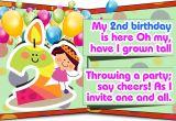 Funny 2nd Birthday Invitation Wording Second Birthday Invitation Wordings that are Cute and Funny