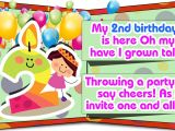 Funny 2nd Birthday Invitation Wording Second Birthday Invitation Wordings that are Cute and Funny