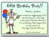 Funny 60th Birthday Party Invitations 40th 50th 60th 70th 80th 90th Personalised Funny Birthday