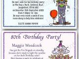 Funny 60th Birthday Party Invitations Personalised 40th 50th 60th 70th 80th 90th Funny Birthday