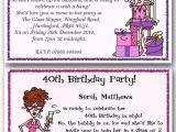 Funny 70th Birthday Invitation Wording 30th 40th 50th 60th 70th 80th Personalised Funny Birthday