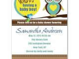 Funny Baby Shower Invite attractive and Funny Owl Baby Boy Shower Invitations Bs141