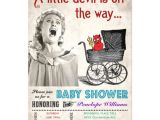 Funny Baby Shower Invite Funny Devil Baby Shower Invitations
