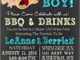 Funny Baby Shower Invite Hide Your Daughters because It S A Boy Baby by