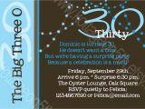 Funny Birthday Invitation Wording for 30th Funny 30th Birthday Party Invitation Wording Best Party