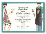 Funny Birthday Invitation Wording for Babies Grilling Fun Couples Shower Invitations Clearance