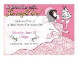 """Funny Bridal Shower Invites Funny Retro Bridal Shower Invitation Template 5"""" X 7"""