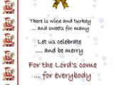 Funny Christmas Party Invitation Wording Funny Christmas Invitation Poems