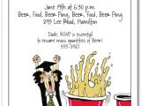 Funny College Graduation Party Invitation Wording Beer Pong Graduation Party Invitations Humorous College