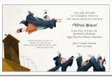 Funny College Graduation Party Invitation Wording Flying High Graduation Party Invitations Graduation