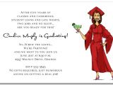 Funny College Graduation Party Invitation Wording Girl Margarita Graduation Party Invitations Humorous