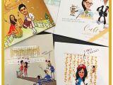 Funny Indian Wedding Invitations Yuvraj Singh Wedding Cartoon Card Idea Edc Witty Vows