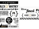 Funny New Years Party Invitation New Year 39 S Eve Wedding Bubbly Design Co