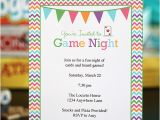 Game Night Party Invitations Game Night Party Ideas with Free Printables